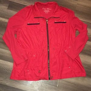 ONQUE WOMENS ANORAK JACKET 2X